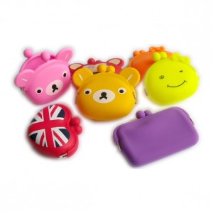 Fashion Novelty Silicone Coin Purses