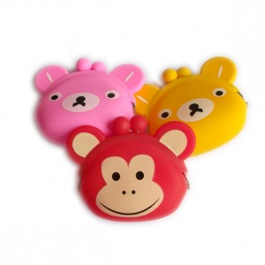 Big Ear Silicone Coin Purse